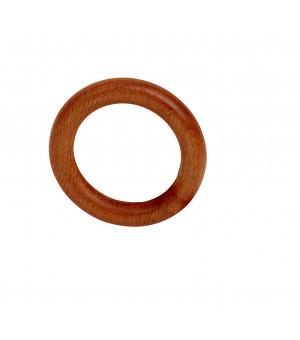 Lot de 10 anneaux merisier D38x56