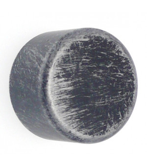 Embout Bouchon noir brossé D28