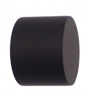 Lot de 2 embouts Bouchon noir mat D20