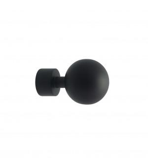 Lot de 2 embouts Boule noir mat D20
