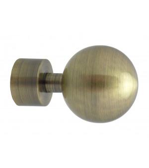 Lot de 2 embouts Boule bronze D20