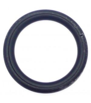 Anneau noir brossé D40x50