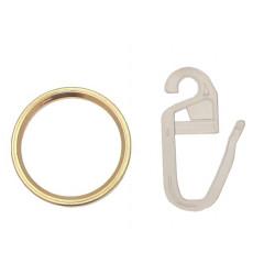 anneau pince nickelé