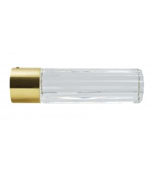 BAF21 Embout Cylindre verre laiton verni D28