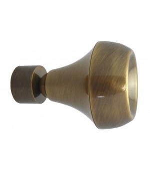 BAF21 Embout Trophy laiton vieilli D28