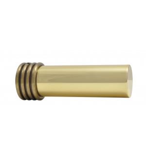 BAF Embout Cylindre bague laiton verni/vieilli D35