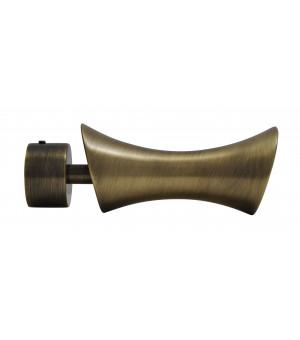 BAF21 Embout Curve laiton vieilli D28