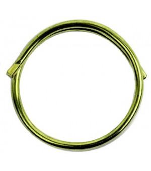 Lot de 10 anneaux brise décor laiton D30X34