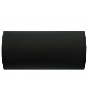 DESTOCK Embout Cylindre noir grainé D28