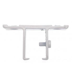 Support rail blanc monobloc 24x16