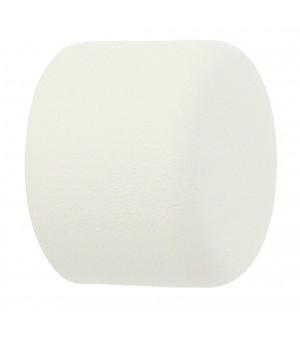 Embout Bouchon blanc grainé D28